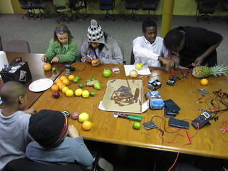 Fruit batteries! | by Mt Elliott Makerspace