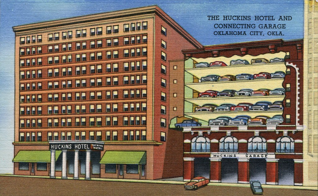 Huckins Hotel - Oklahoma City, Oklahoma