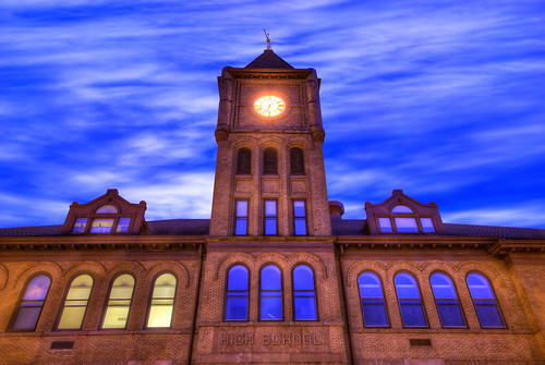 Galena Clock Tower at Night | by Mister Joe