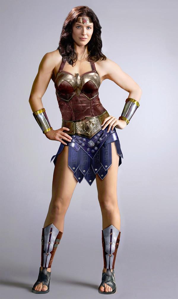 Bridget Regan Wonder Woman Tv Series By Dirk 2112