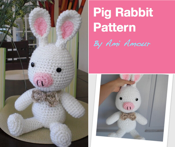 Pig Rabbit Crochet Pattern Inspired By K Drama Youre Bea Flickr