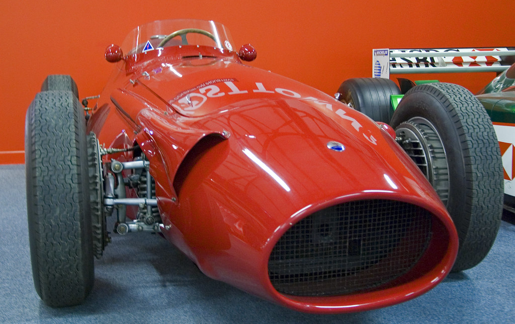1950s Maserati F1 Car In Coventry Transport Museum Flickr