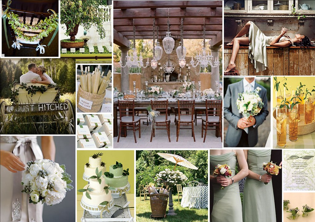 Grey and Green Rustic Wedding Theme | For more stylish & cre… | Flickr