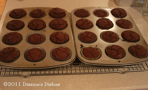 Glorious Chocolate Cream Filled Cupcakes: Baked | by Dianne's Dishes