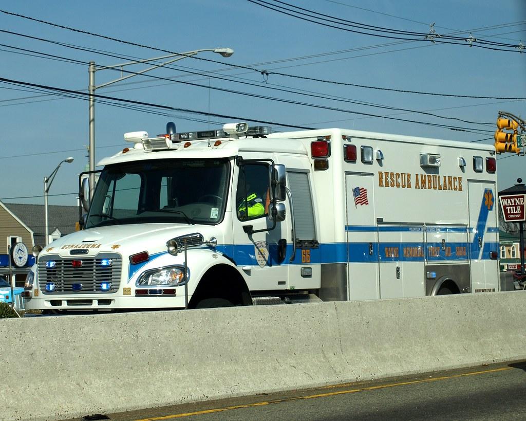 New jersey passaic county wayne -  Wayne Memorial First Air Squad Ambulance Truck Passaic County New Jersey By Jag9889