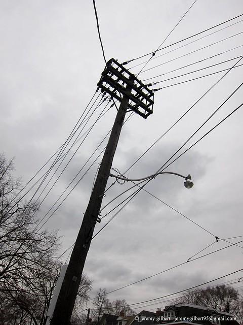 Utility pole | Utility pole, Toronto | Jeremy Gilbert | Flickr