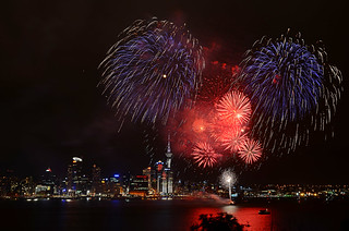 Auckland Anniversary celebrations as seen from Devonport | by D7Kographer