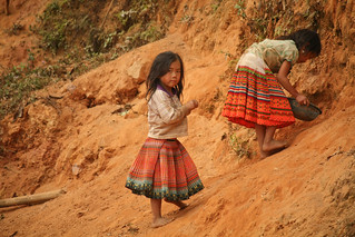 Lao Girls in Colorful Skirts (By Natasha) | by goingslowly