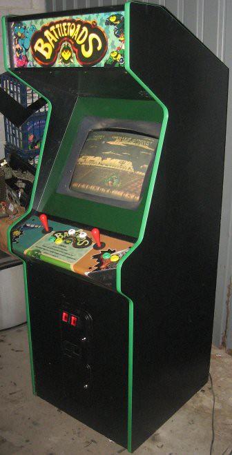 Battletoads Arcade Cabinet | Arcade cabinet of Battletoads | Flickr