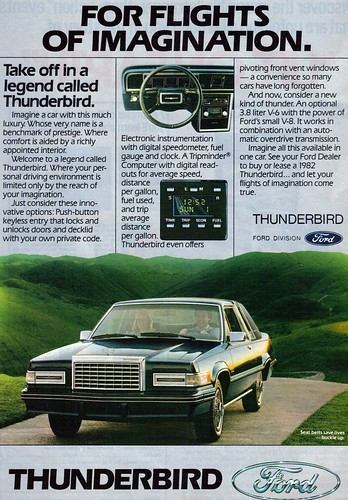 1982 Ford Thunderbird | by coconv