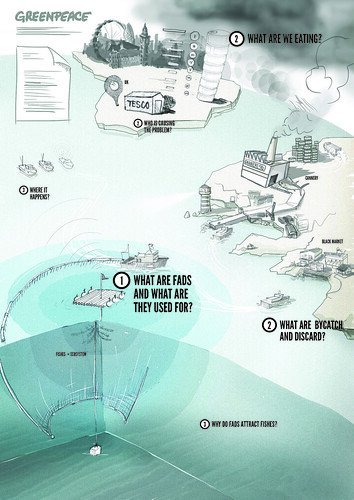 Greenpeace Oceans Campaign / final sketch | by densitydesign