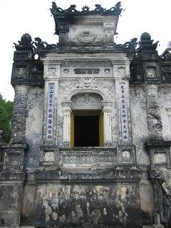 Temple, Tomb Of Khai Dinh,  Near Hue, Thừa Thiên - Huế Province | by Pigalle