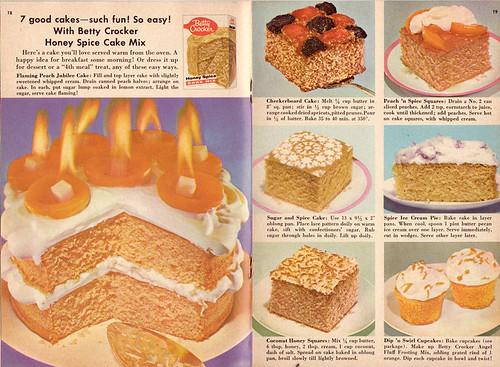 Betty Crocker Spice Cake Mix | Betty Crocker Cake Booklet No… | Flickr