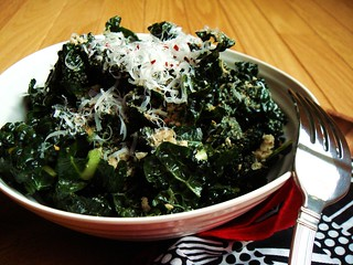 Raw Tuscan Kale Salad | by ComeUndone