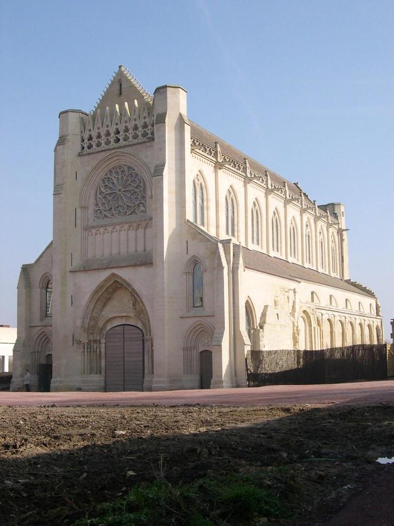 Réhabilitation de l'Abbaye d'Ardenne pour l'installation de l'IMEC, Saint Germain la Blanche Herbe FRANCE