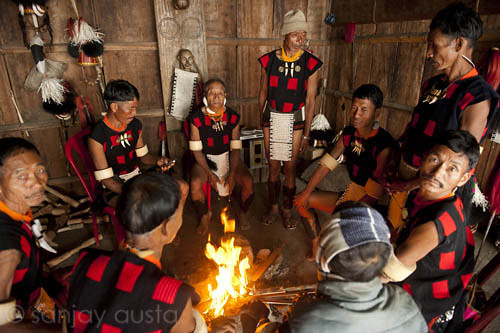 the nagas tribe