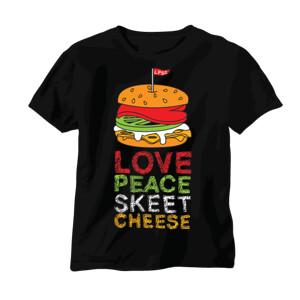 love peace skeet cheese