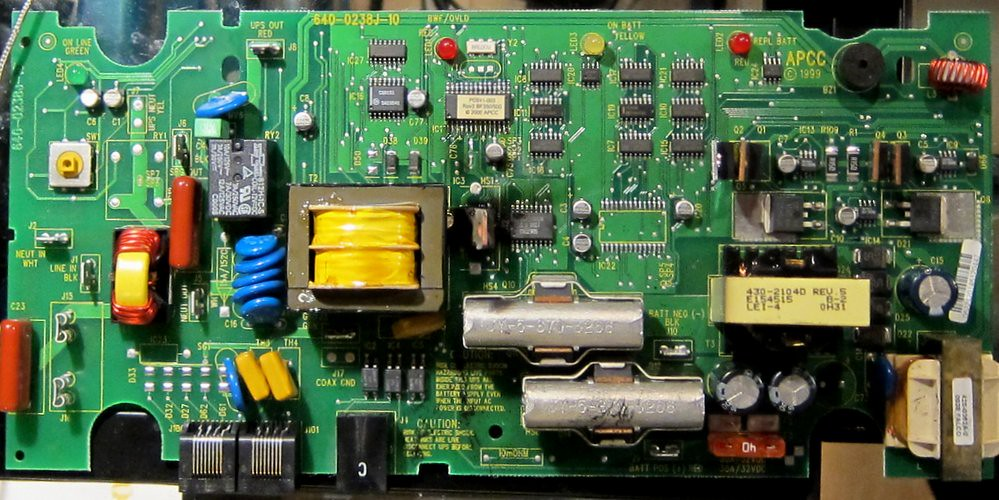 Apc 350va Ups Circuit Board Radellaf Flickr