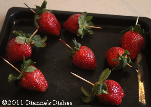 Chocolate Covered Strawberries: Ready to Dip | by Dianne's Dishes