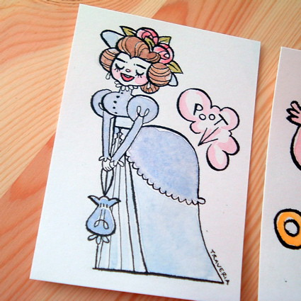 Farting Victorian Lady! | by Alicia Policia aka The Small Cat Club
