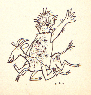 early Quentin Blake | by Fred Blunt