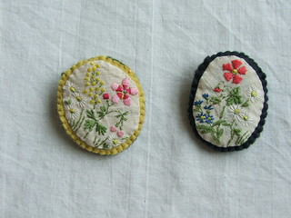 sprig brooches | by tiny happy