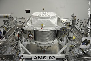 07 AMS-02 finally set up - Photo Credit: Michele Famiglietti AMS-02 Collaboration | by ams02web