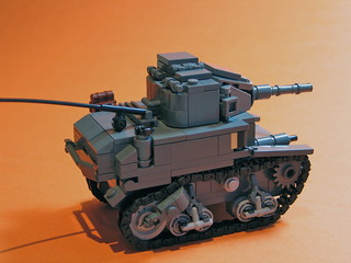 M3A1 Stuart Tank *Upgraded* | by [DustyBricks]