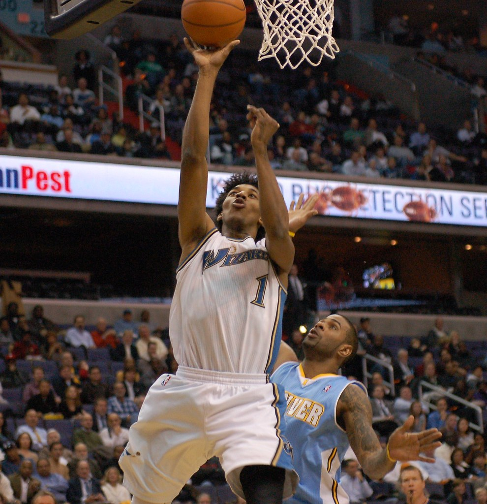 Wizards Vs Nuggets - January 25, 2011