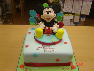 mickey mouse cake | by Helen Brinksman