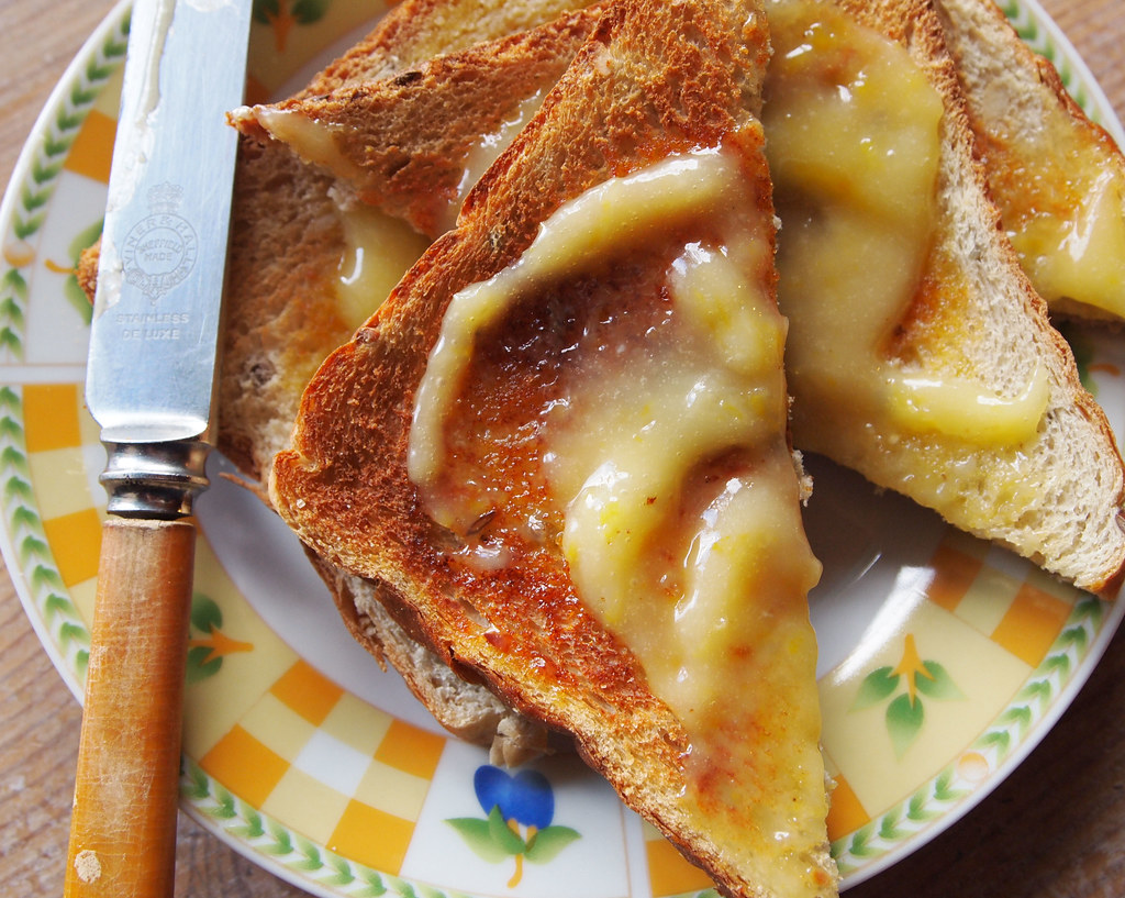 Hot buttered toast!