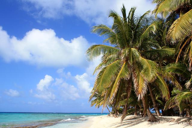 Cayo Bolivar beach