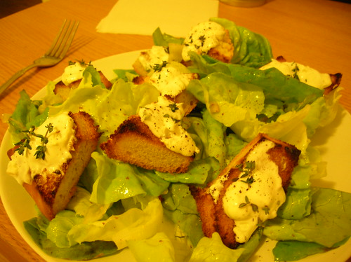 ... Salad with Warm Goat Cheese Croutons (140), Shallot Vinaigrette (183
