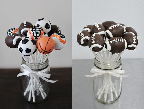 sports balls | by Sweet Lauren Cakes