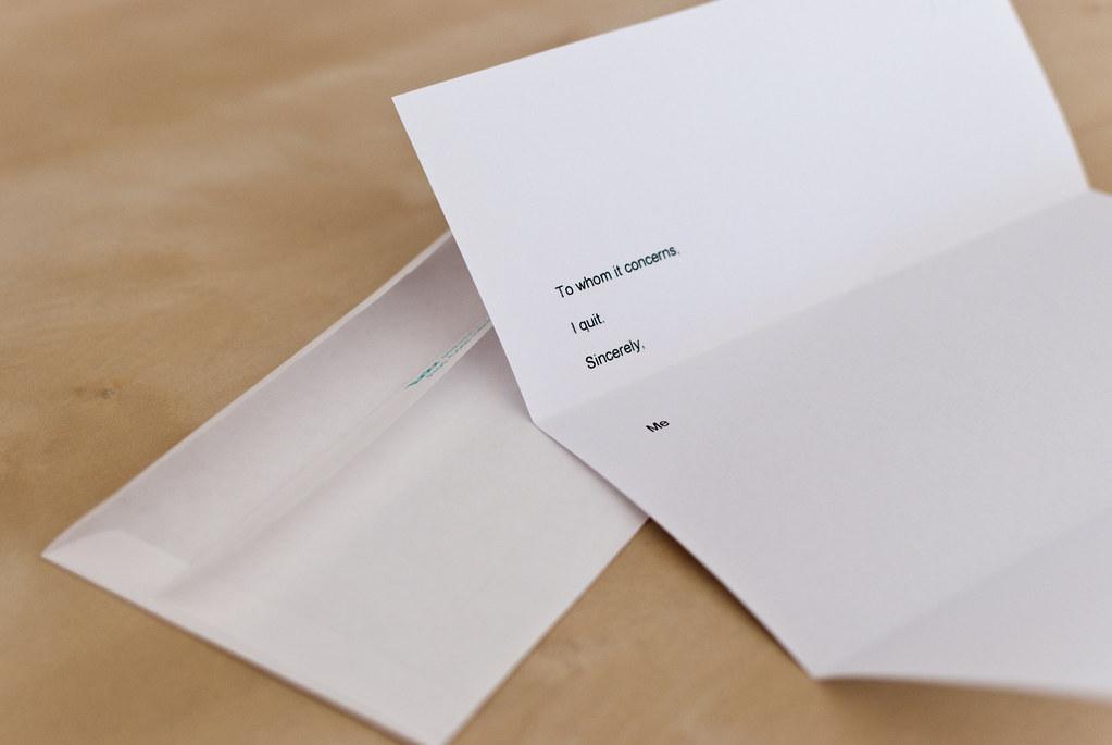 Resignation Letter by beatplusmelody Resignation Letter