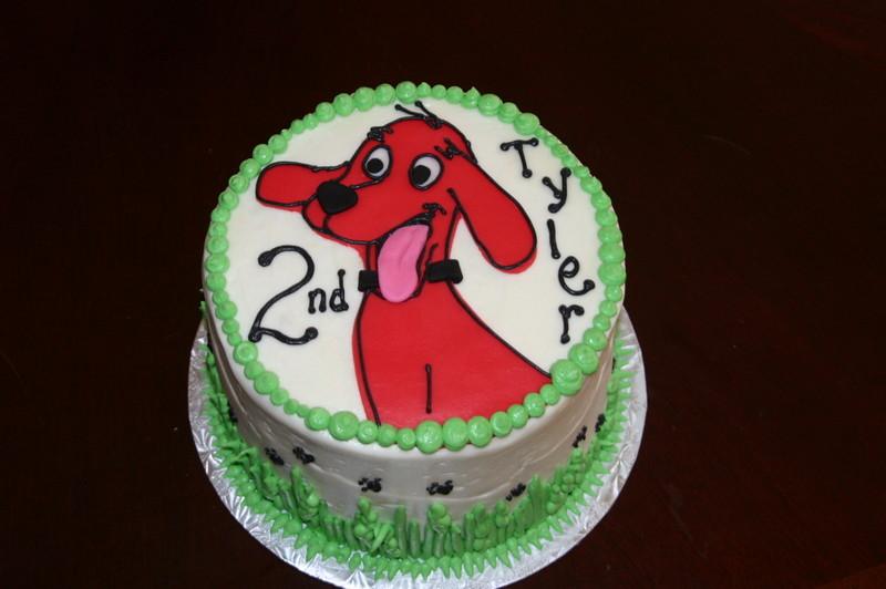 Clifford The Big Red Dog Cake Bonnie Brunt Flickr
