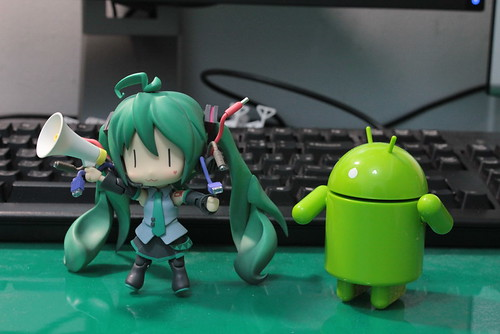 Nendoroid Hatsune Miku HMO and Android | by animaster