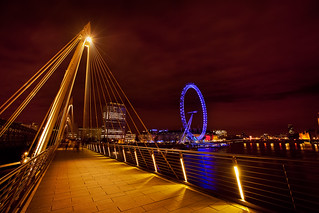 Golden Jubilee Bridge & the London Eye | by Lisa Bettany {Mostly Lisa}