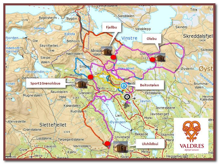 beitostølen kart Bu kart Beitostølen | Kjell Arne Berntsen | Flickr beitostølen kart