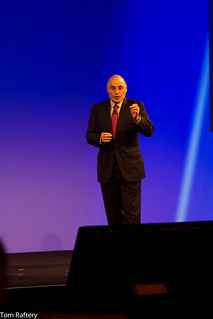 HP CEO Léo Apotheker opening the HP Summit | by Tom Raftery