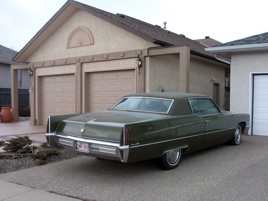 1970 Cadillac Coupe Deville Big Old Green Cadillac Flickr