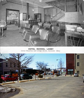 Then & Now - Hotel Rommel lobby | by Olivander