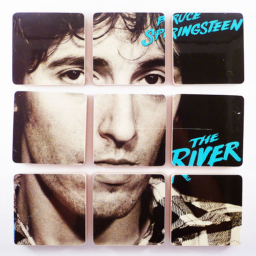 Bruce Springsteen, The River Album Cover Coasters | by McCoyCreations