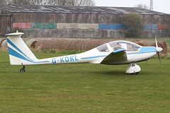 G-KOKL - 1989 build Hoffmann H36 Dimona at the 2011 Breighton Spring All-Comers fly-in