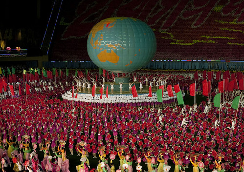 Arirang mass games in Pyongyang - North Korea | by Eric Lafforgue