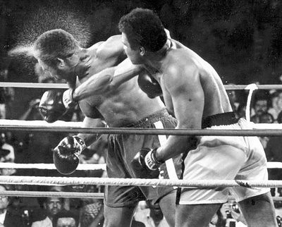 Muhammad Ali George Foreman Rumble In The Jungle