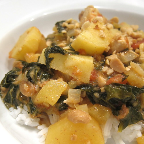 West African Peanut & Chicken Stew | by katbaro