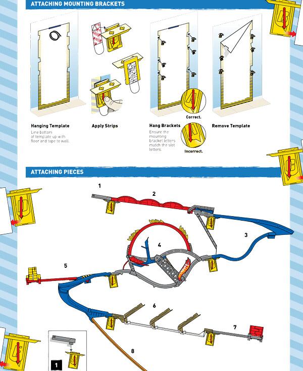 Hot Wheels - Wall Tracks Product Manual   Comp of Hot Wheels…   Flickr