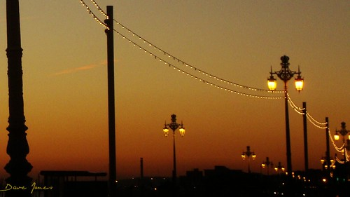 Streetlights on Brighton seafront | by brightondj - getting the most from a cheap compact