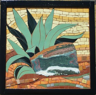Thriving in the Desert-Blue Agave | by Susan Turlington Mosaics